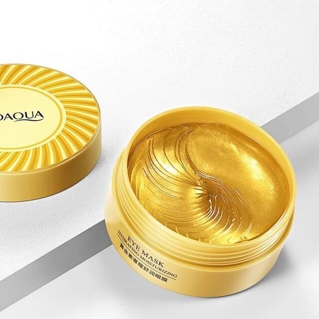 Увлажняющие гидрогелевые патчи с частицами золота Bioaqua