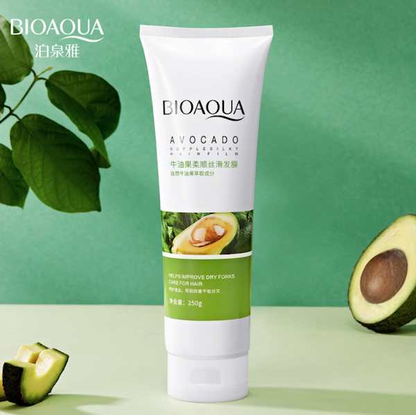 Питательная маска для волос с экстрактом авокадо Bioaqua Hair Mask 250 гр.