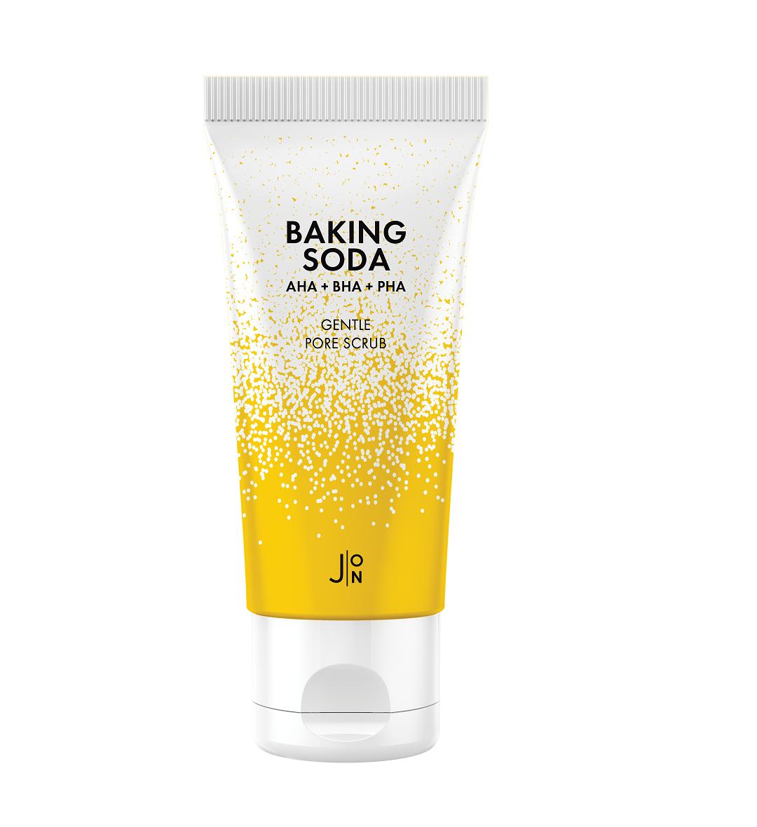 Скраб для лица СОДОВЫЙ Baking Soda Gentle Pore Scrub, 50 гр J:ON