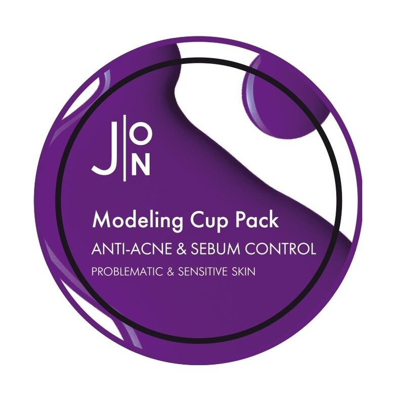 Альгинатная маска для лица АНТИ-АКНЕ/СЕБУМ КОНТРОЛЬ Anti-Acne Sebum Control Modeling Pack, 18 гр J:ON