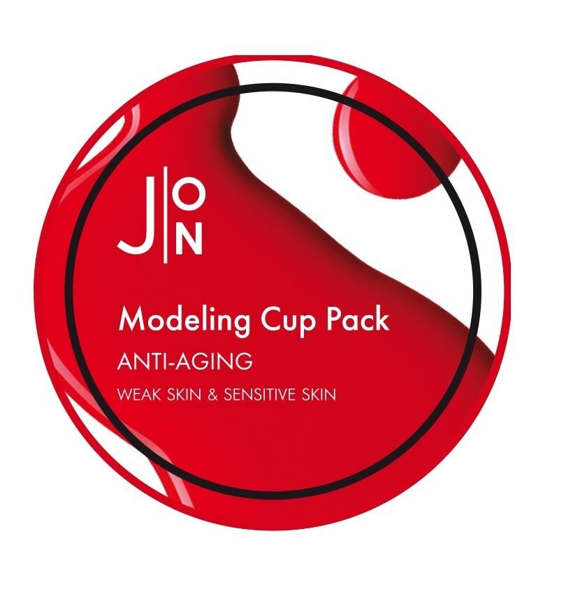 Альгинатная маска для лица АНТИВОЗРАСТНАЯ Anti-Aging Modeling Pack, 18 гр J:ON
