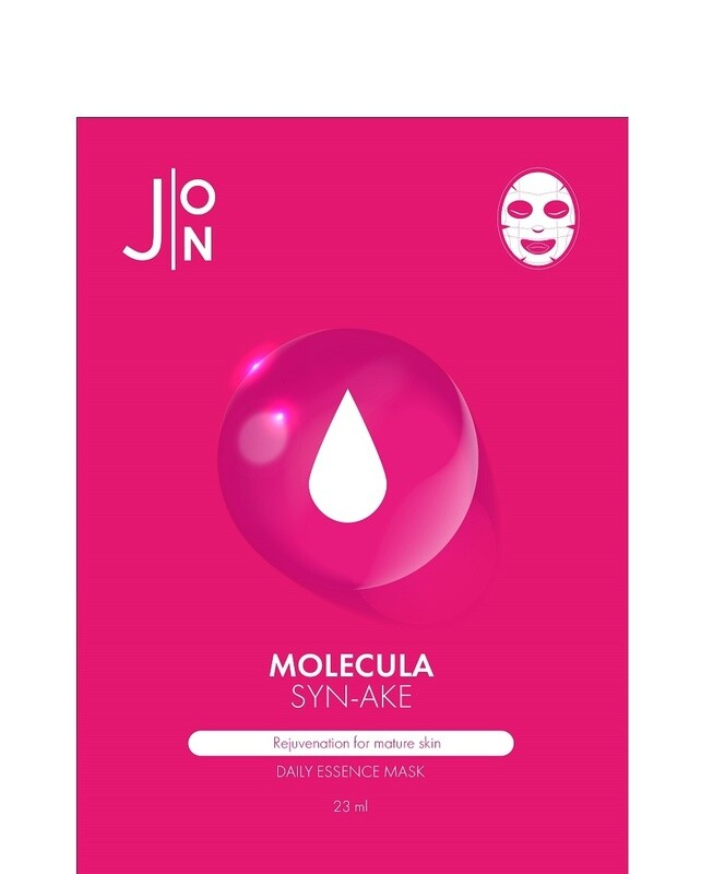 Маска для лица ЗМЕИНЫЙ ПЕПТИД Molecula Syn-Ake Daily Essence Mask J:ON