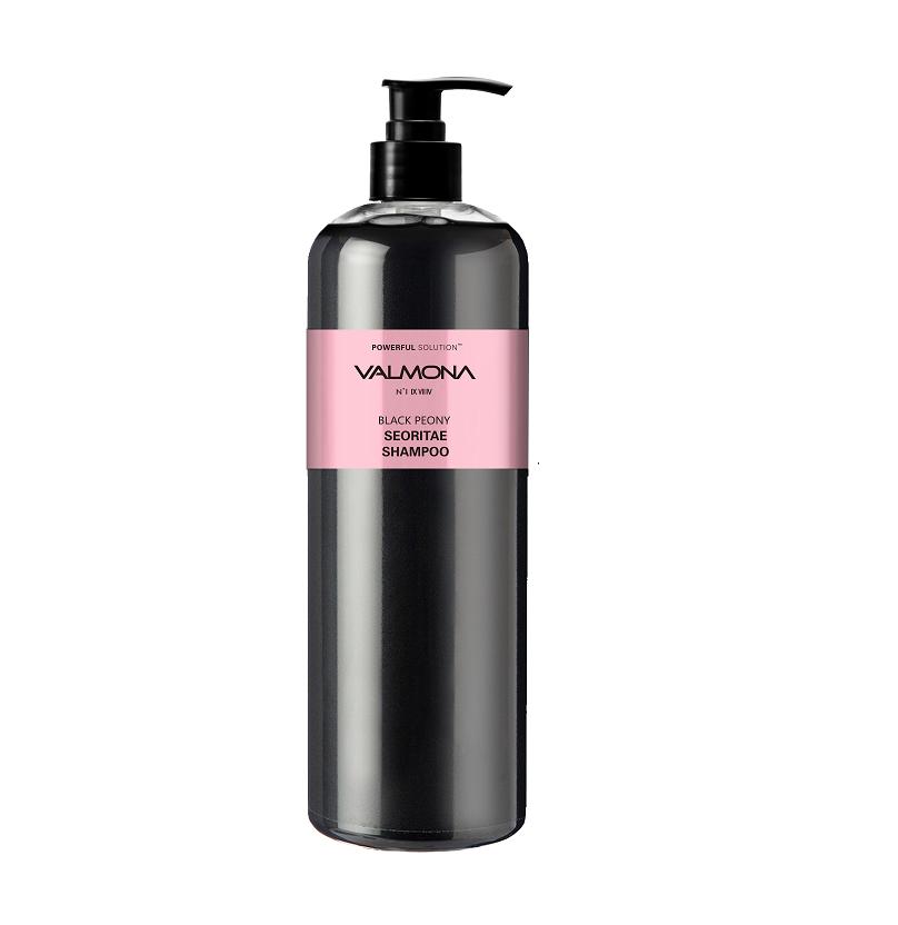 Шампунь для волос ЧЕРНЫЙ ПИОН/БОБЫ Powerful Solution Black Peony Seoritae Shampoo, 480 мл