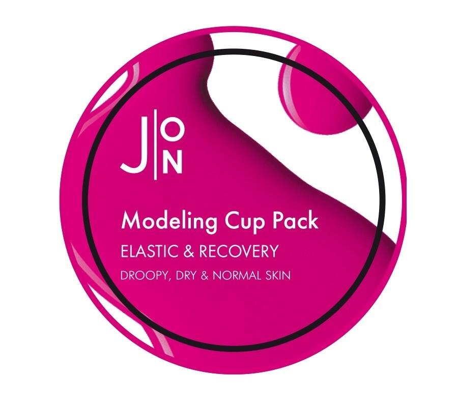 Альгинатная маска для лица ЭЛАСТИЧНОСТЬ/ВОССТАНОВЛЕНИЕ Elastic Recovery Modeling Pack, 18 гр J:ON