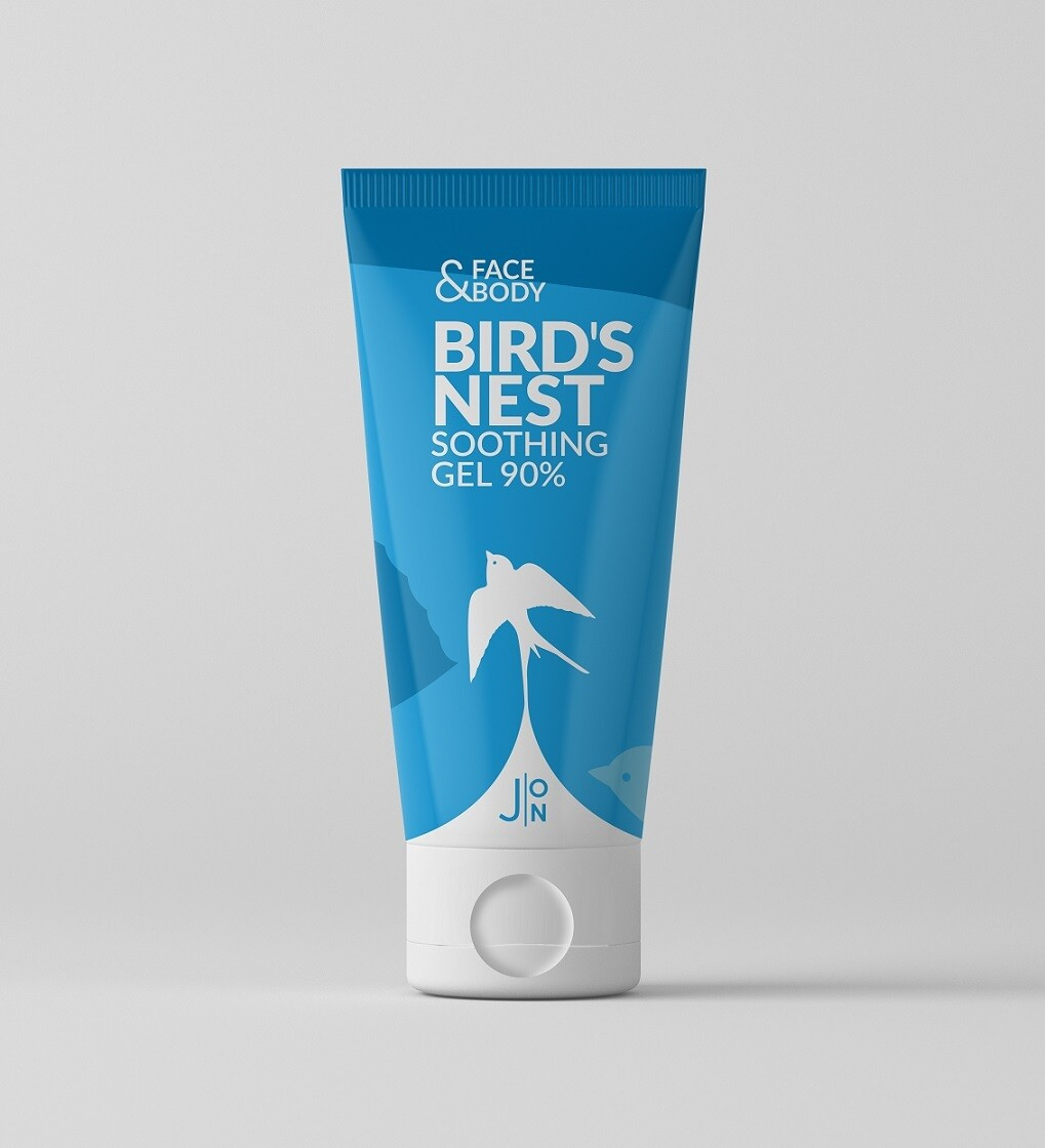 Гель универсальный ЛАСТОЧКА Face & Body Bird's Nest Soothing Gel 90%, J:ON 200 мл