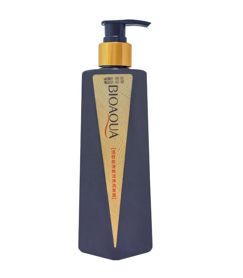 Восстанавливающий детокс-шампунь для волос с бамбуковым углем Bioaqua