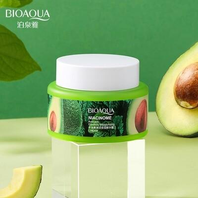 Увлажняющий крем для лица c авокадо и ниацинамидом BIOAQUA УЦЕНКА