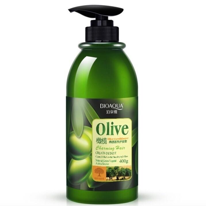 Кондиционер для волос с экстрактом оливы BIOAQUA