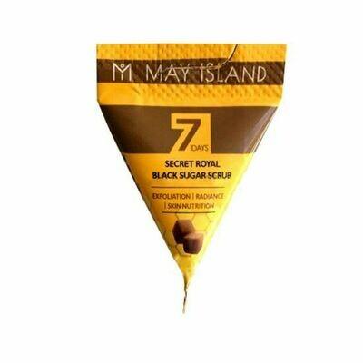 Сахарный скраб для лица May Island Seven Days Secret Royal Black Sugar Scrub
