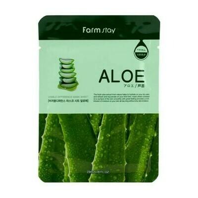 Маска с экстрактом алоэ Visible Difference Mask Sheet Aloe FarmStay