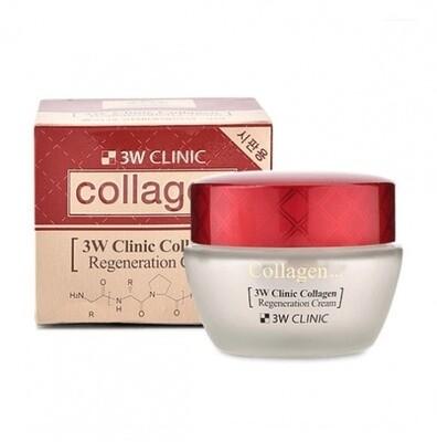 Крем для лица  Collagen Regeneration Cream 60 мл 3W CLINIC