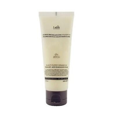 Шампунь для сухих и поврежденных волос Moisture Balancing Shampoo La'Dor, 100 мл
