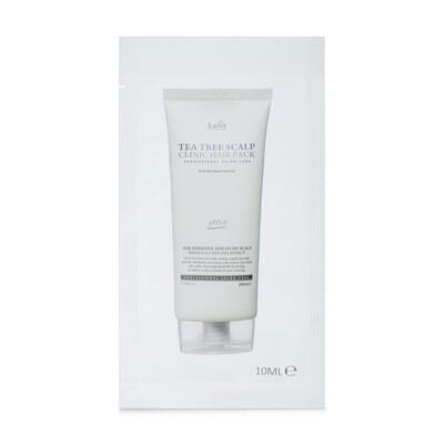 Маска-пилинг для кожи головы с чайным деревом Tea Tree Scalp Clinic Hair Pack La'Dor, 10 мл
