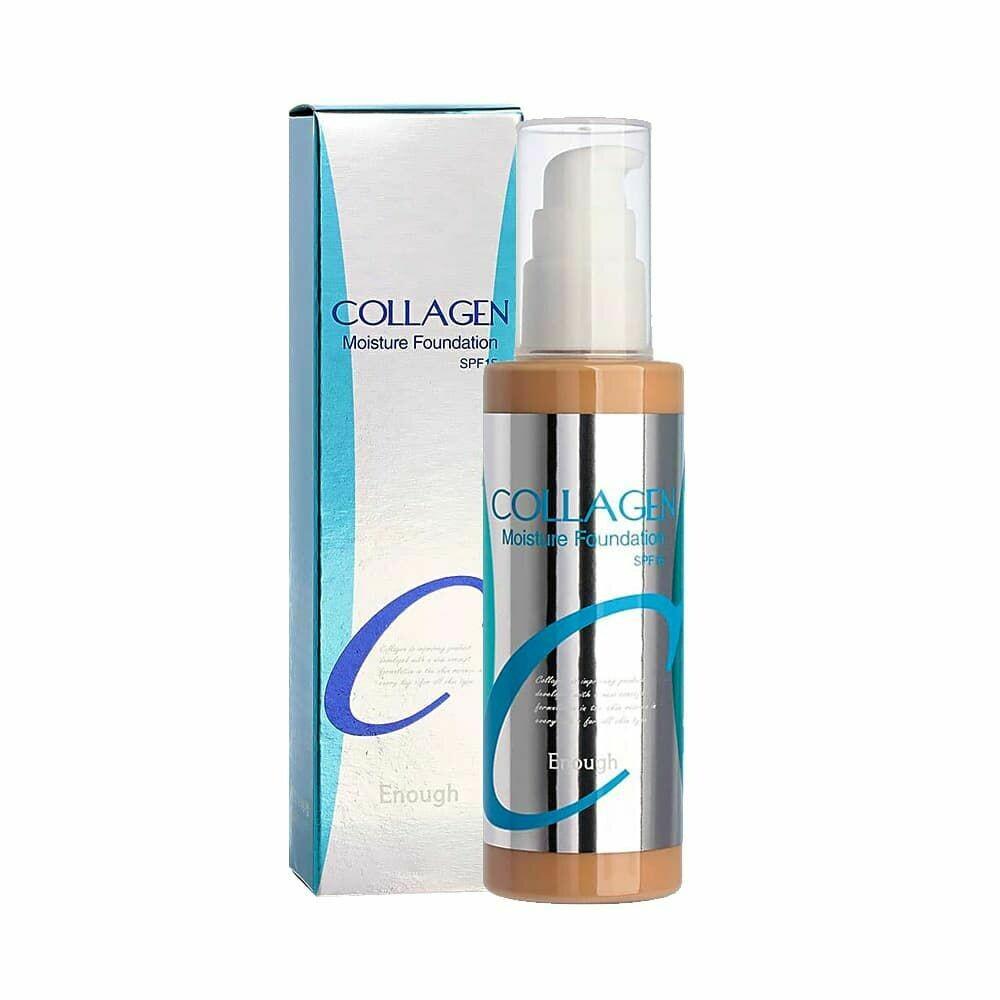Тональный крем Collagen Moisture Foundation Enough, 100 мл, тон №13 (для светлой кожи)