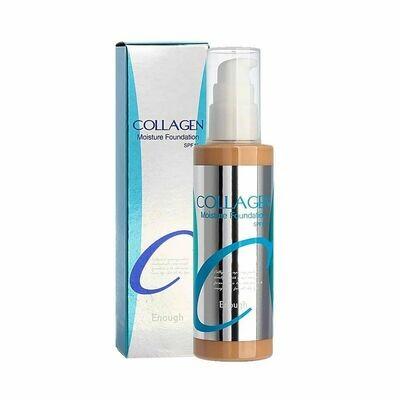Тональный крем Collagen Moisture Foundation Enough, 100 мл, тон №21 (для нормальной кожи)