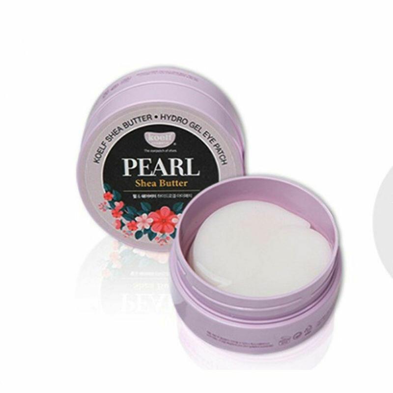 Гидрогелевые патчи с маслом Ши и жемчугом Pearl Shea butter Hydrogel Eye Patch