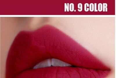 Матовый блеск для губ Kiss Beauty Тон 09