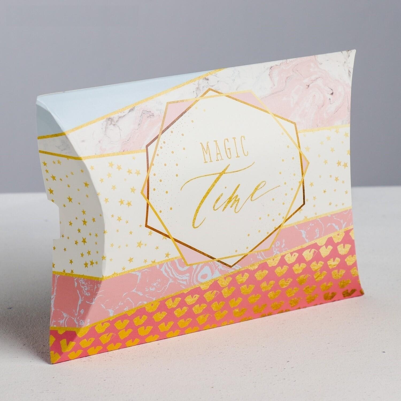 Коробка складная Magic time, 19 × 14 × 4 см