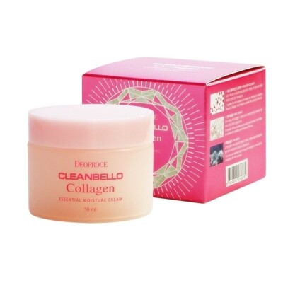 Увлажняющий коллагеновый крем от морщин Cleanbello Collagen Essential Moisture Cream Deoproce