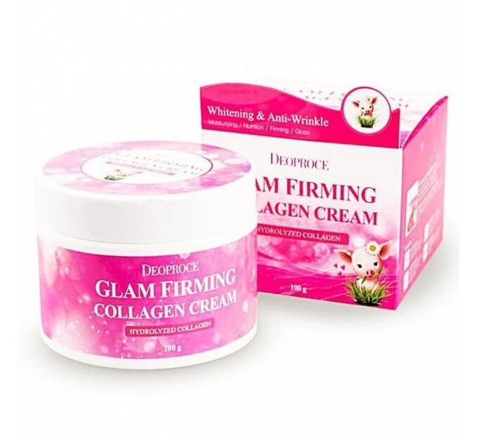 Крем для лица подтягивающий коллагеновый Moisture Glam Firming Collagen Cream Deoproce