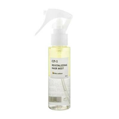 Двухфазный парфюмированный мист для волос с хлопком CP-1 Revitalizing Hair Mist (White cotton) ESTHETIC HOUSE