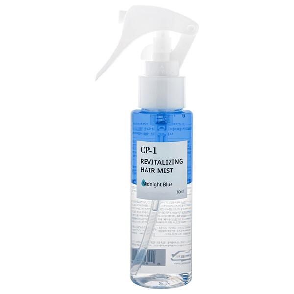 Двухфазный парфюмированный мист для волос  CP-1 Revitalizing Hair Mist (Midnight Blue) ESTHETIC HOUSE