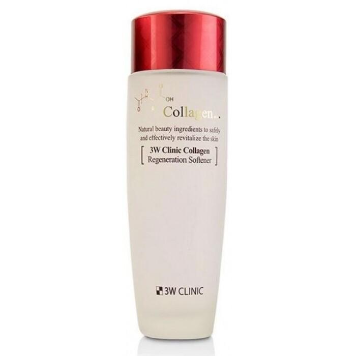 Восстанавливающая эмульсия для лица с коллагеном Collagen Regeneration Emulsion, 3W Clinic 150 мл