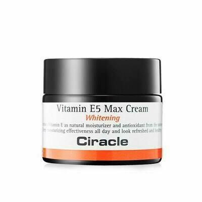 Крем для лица осветляющий Vitamin E5 Max Cream 50 мл Ciracle