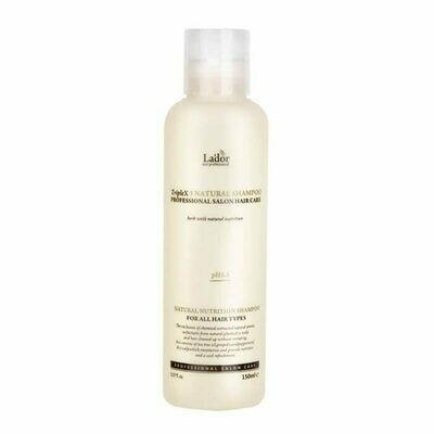 Безсульфатный органический шампунь с эфирными маслами Triplex Natural Shampoo Lador 150 мл.
