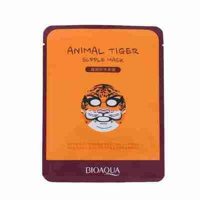 Маска для лица тканевая Animal Face Tiger питательная Bioaqua