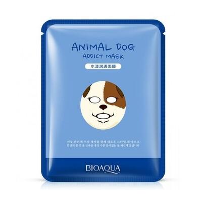 Маска для лица тканевая Animal Face Dog увлажняющая Bioaqua