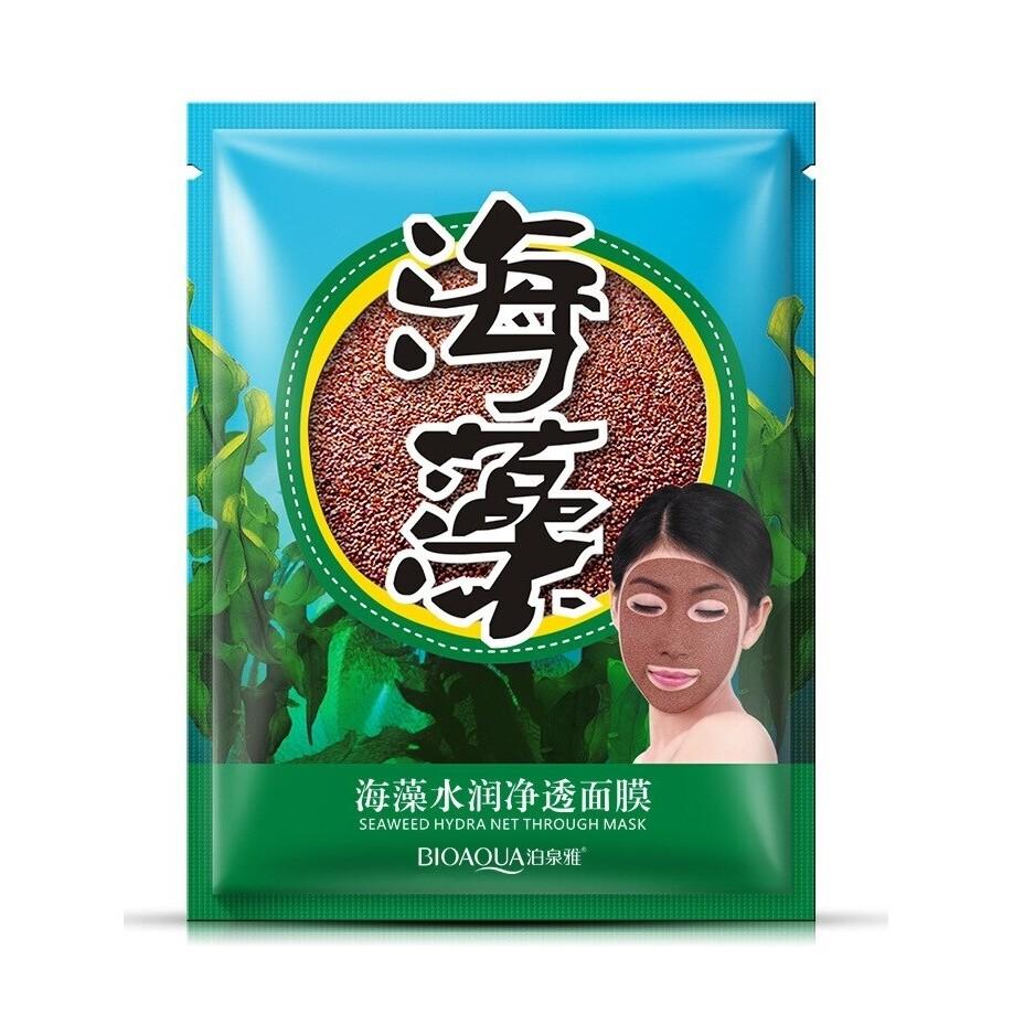 Увлажняющая маска из семян морских водорослей Bioaqua