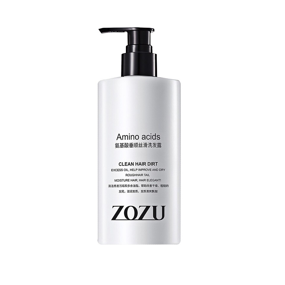Увлажняющий шампунь с аминокислотами шелка, Zozu 340 мл.