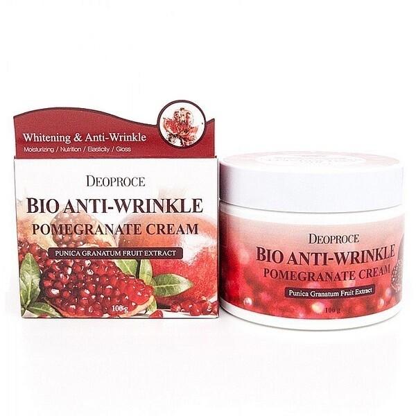 Биокрем против морщин с экстрактом граната Bio Anti-Wrinkle Pomegranate Cream Deoproce