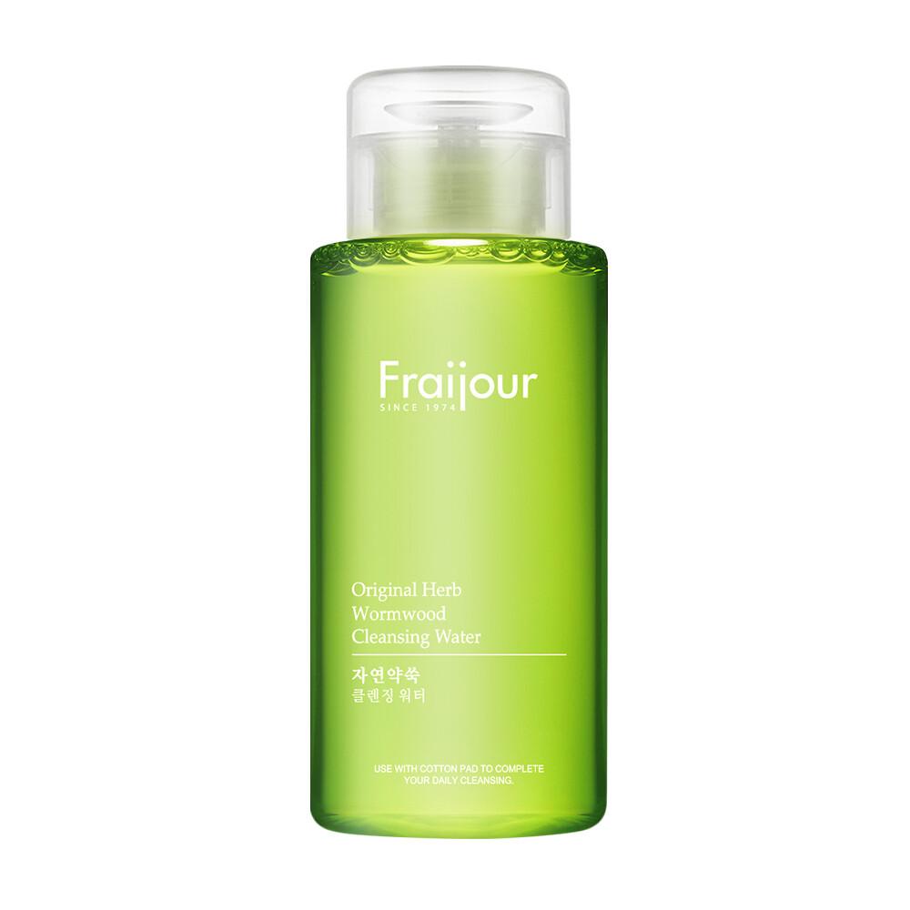 Жидкость для снятия макияжа РАСТИТЕЛЬНЫЕ ЭКСТРАКТЫ Original Herb Wormwood Cleansing Water, Fraijour 300 мл