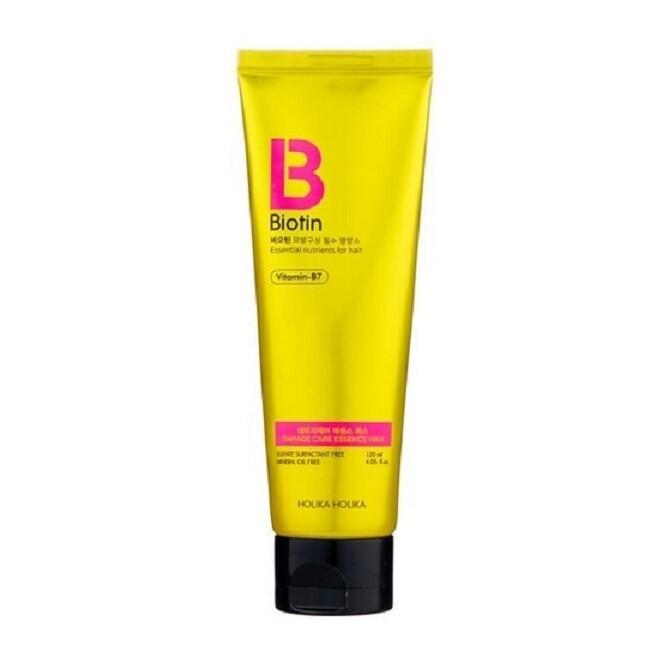 Эссенция-воск для поврежденных волос Biotin Damage Care, Holika Holika 120 мл