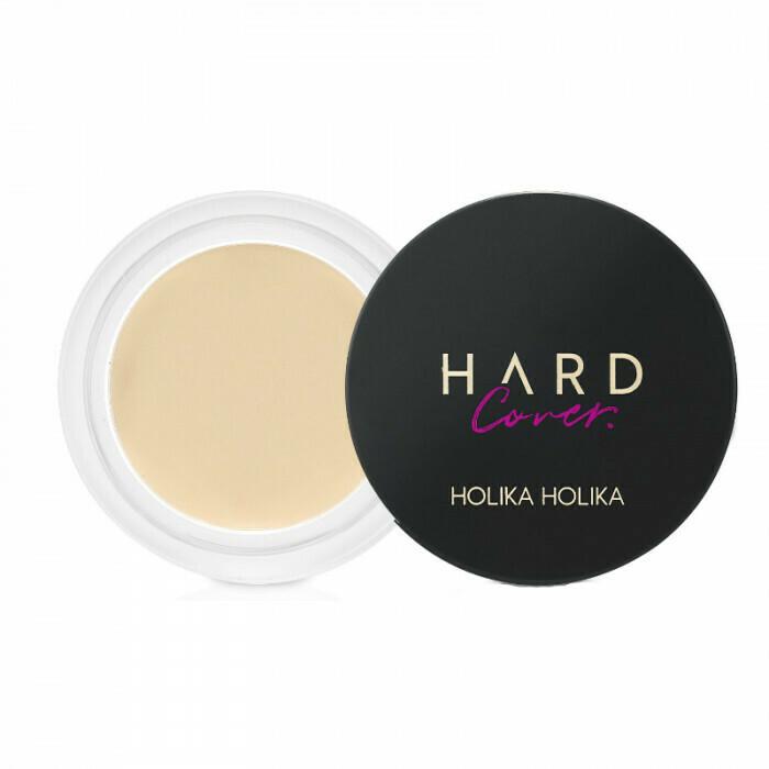 Крем-консилер Hard Cover Cream Pot Concealer Holika Holika, 6 гр. тон 01 (теплый беж)
