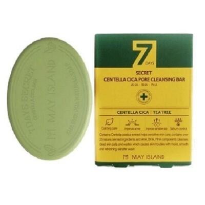 Мыло для проблемной кожи Centella Cica Pore Cleansing Bar MAY ISLAND 100 г