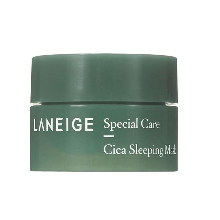 Ночная восстанавливающая маска с центеллой Laneige Special Care Cica Sleeping Mask, 10 мл