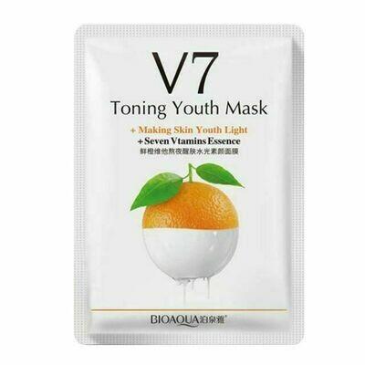 Витаминная маска V7 с экстрактом апельсина BIOAQUA