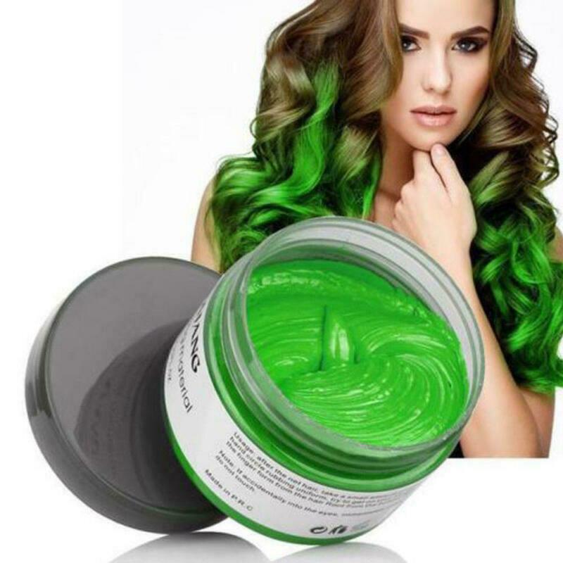 Mofajang воск для волос зеленый