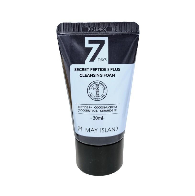 Очищающая пенка с пептидами Peptide 8 Plus Cleansing Foam, MAY ISLAND 30 мл.