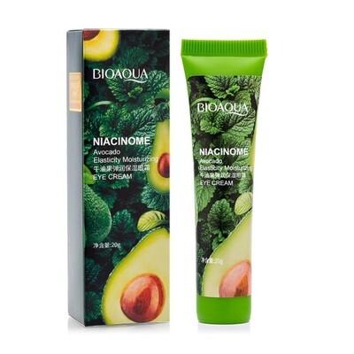 Крем питательный крем для кожи вокруг глаз с авокадо Bioaqua