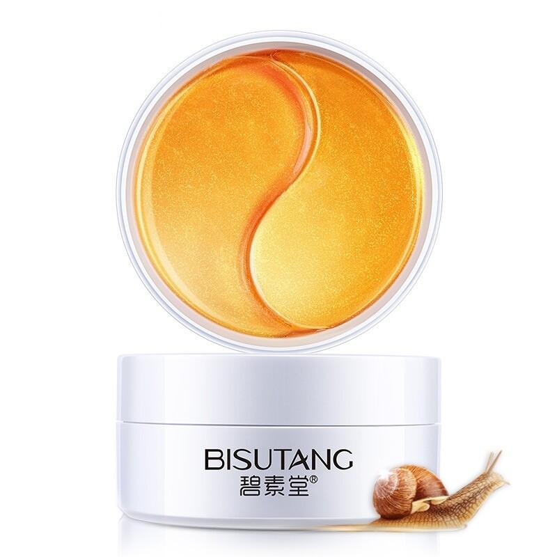 Гидрогелевые патчи для глаз с муцином улитки Bisutang