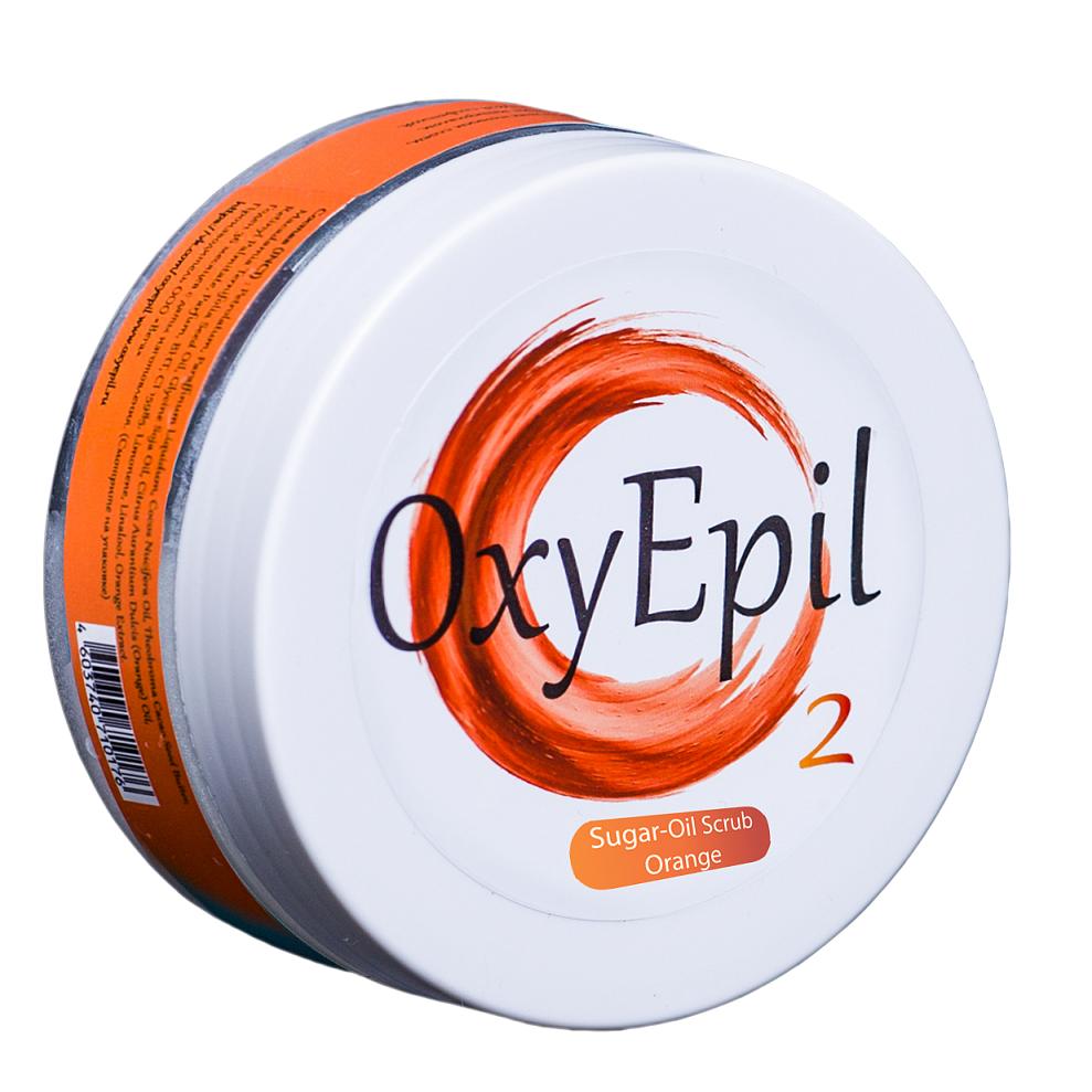 Сахарный масляный скраб (апельсин) Oxy Epil 200 гр.