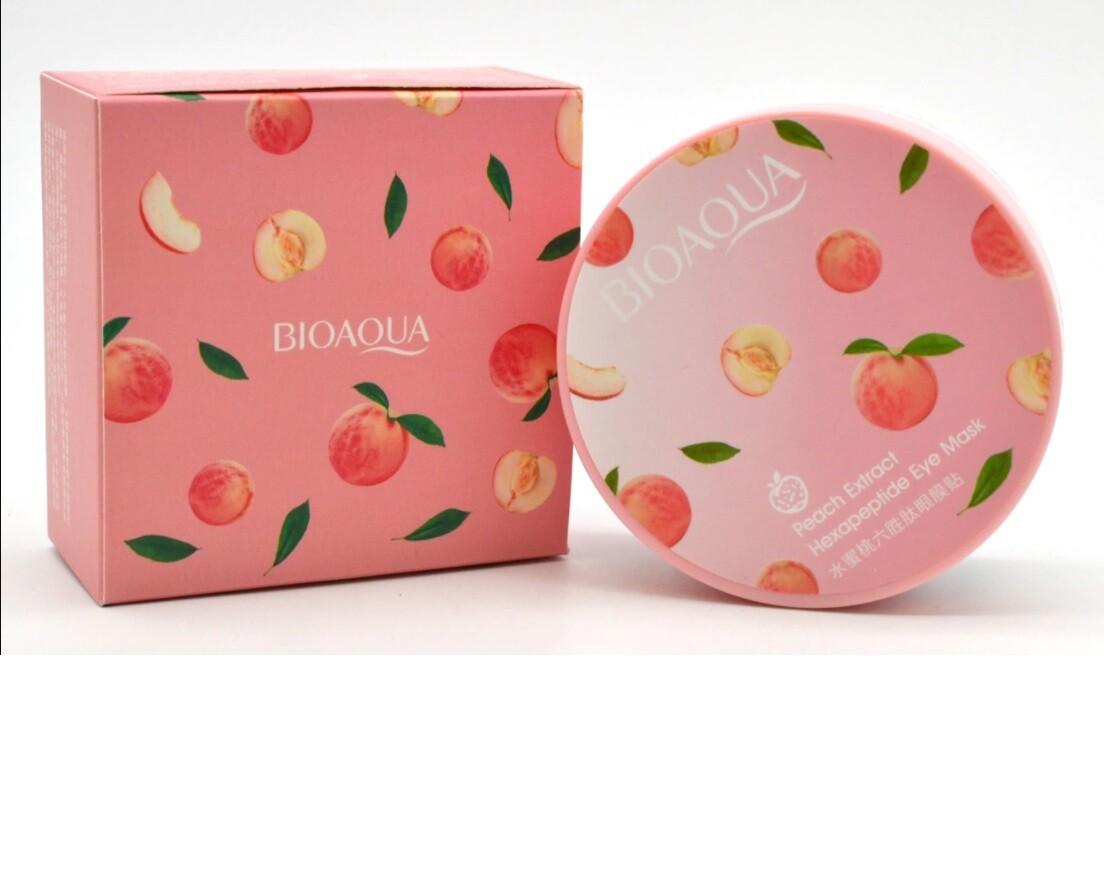 Патчи с экстрактом персика Bioaqua