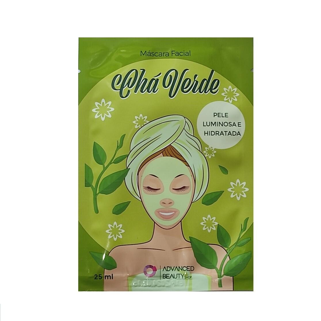 Увлажняющая маска с экстрактом зеленого чая Advanced Beauty