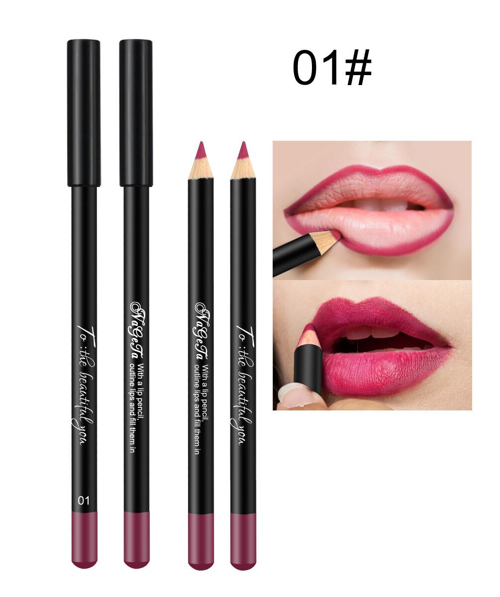 Водостойкий карандаш для губ (тон 01)