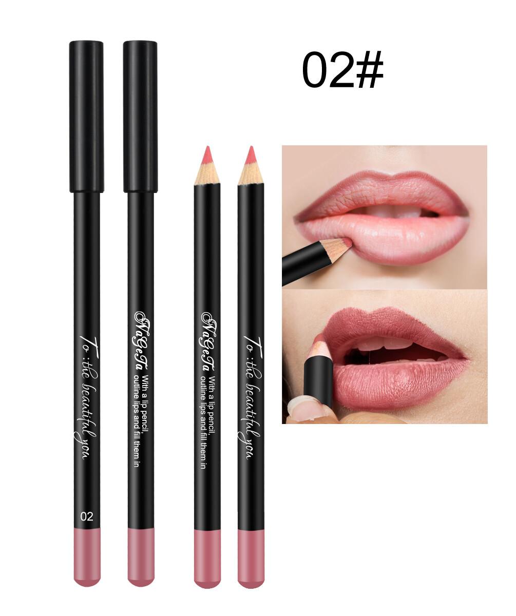 Водостойкий карандаш для губ (тон 02)