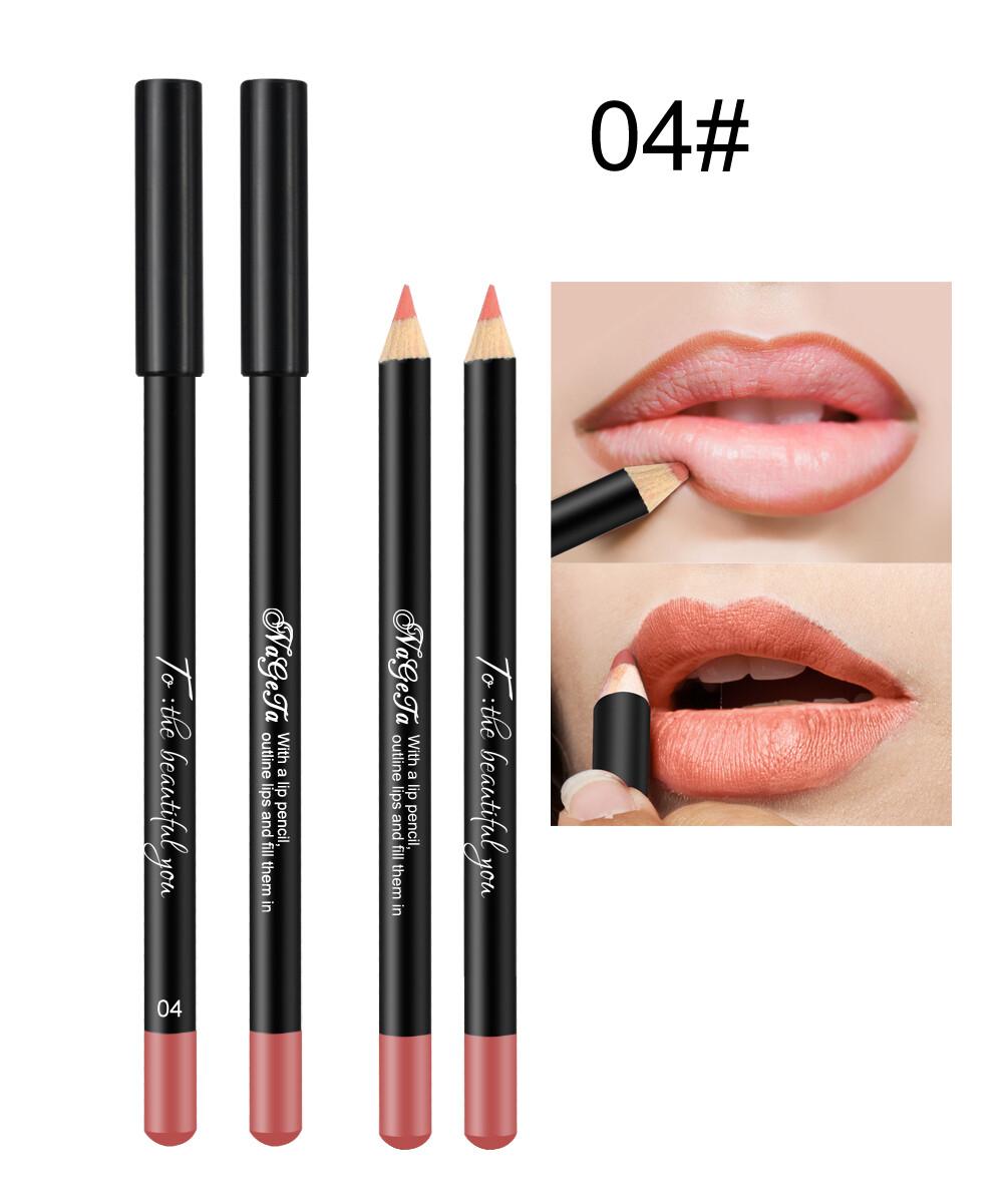 Водостойкий карандаш для губ (тон 04)
